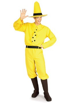 Man in the Yellow Hat Costume