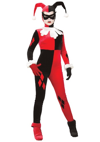 Click Here to buy Adult Harley Quinn Costume from HalloweenCostumes, CDN Funds & Shipping