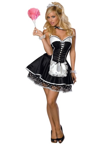 Womens Naughty Maid Costume