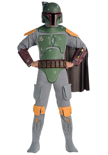 Click Here to buy Deluxe Adult Boba Fett Costume from HalloweenCostumes, CDN Funds & Shipping