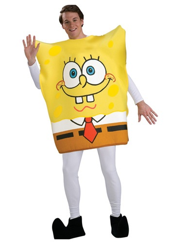 Click Here to buy Adult SpongeBob SquarePants Costume from HalloweenCostumes, CDN Funds & Shipping
