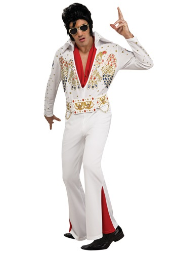 Click Here to buy Deluxe Adult Elvis Costume from HalloweenCostumes, CDN Funds & Shipping