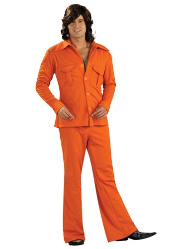 Click Here to buy Orange Leisure Suit from HalloweenCostumes, CDN Funds & Shipping