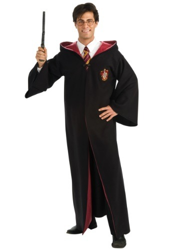 Click Here to buy Adult Deluxe Harry Potter Costume from HalloweenCostumes, CDN Funds & Shipping