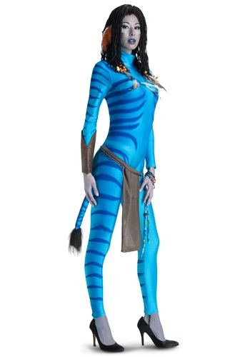Click Here to buy Adult Avatar Neytiri Costume from HalloweenCostumes, CDN Funds & Shipping