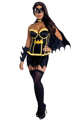 Click Here to buy Batgirl Corset Costume from HalloweenCostumes, CDN Funds & Shipping
