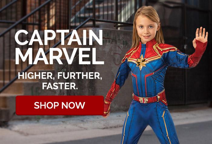 Captain Marvel. Higher, Further, Faster.