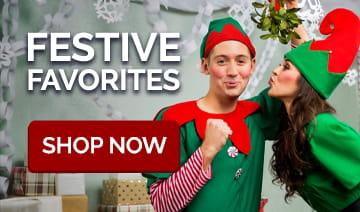 Santa Suits, Reindeer & Elf Costumes